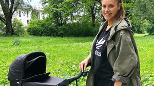 """""""Kleine Maus"""": Moderatorin Esther Sedlaczeks Baby ist da!"""