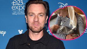 Ewan McGregor jetzt Fünffach-Papa: Tochter verrät Babynamen!