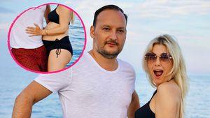 RTL-Star Jennifer Knäble zeigt sich schwanger im Bikini!