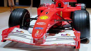 Ferrari: Schumis Weltmeister-Flitzer wird versteigert