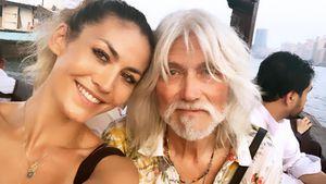Familienbande: Fiona Erdmann brachte ihren Vater zum Modeln!