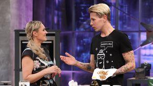 """Florian Wess und Ruth Moschner bei """"Grill den Henssler"""""""