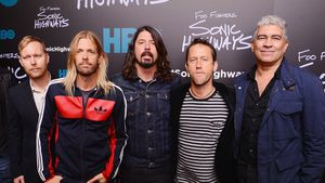 Foo Fighters bei einem Event in New York