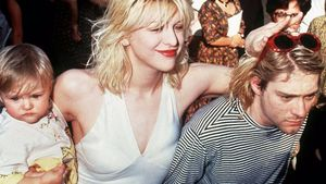 Courtney Love, Frances Bean und Kurt Cobain