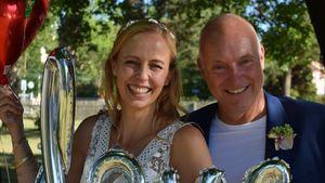 """""""Angekommen"""": Frank Buschmann hat seine Lisa geheiratet"""