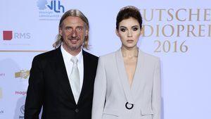 Frank Otto und Nathalie Volk beim Deutschen Radiopreis 2016 in Hamburg