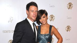 Wayne Bridge und Frankie Sandford