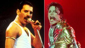 Freddie Mercury schnauzte Michael Jackson wegen Matratze an