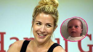 Neu-Mama Gemma Atkinson teilt niedliches Video von Tochter