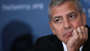 George Clooney in Washington D.C.