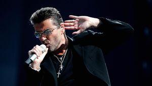 George Michael während eines Konzerts in Amsterdam 2007