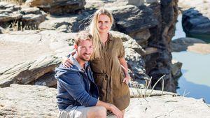 Camping in Afrika-Einöde: Bei BsF-Gerald & -Anna knistert's!