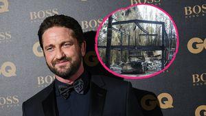 Nach Waldbrand: Gerard Butler will sein Haus wieder aufbauen
