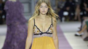 Sexy Kurven: Gigi Hadid begeistert auf der Fashion Week
