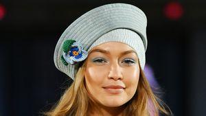 Kurz vor Geburt: Gigi Hadid strahlt bis über beide Ohren!