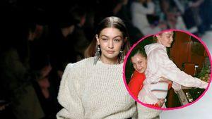 Süßer Rückblick: Gigi Hadid teilt Schwanger-Throwback-Pic