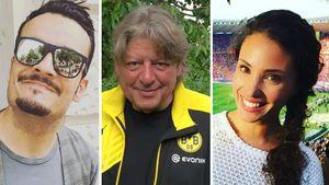 Nadine Menz, Giovanni Zarrella und Walter Freiwald
