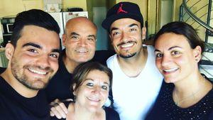 Giovanni Zarrella und seine Familie