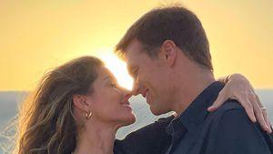"""""""Ich liebe dich"""": Süßes Strand-Pic von Gisele Bündchen & Tom"""