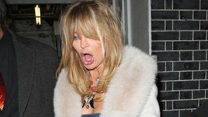 Erwischt: Goldie Hawn ziemlich betrunken!