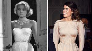 Grace Kelly als Vorlage: Eugenies Kleid von Royal inspiriert