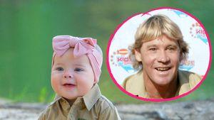 Bindi Irwins Papa Steve ist der Schutzengel seiner Enkelin