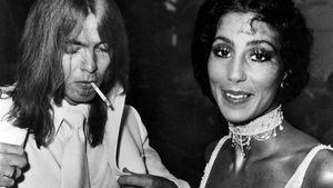 Gregg Allman und Cher 1970