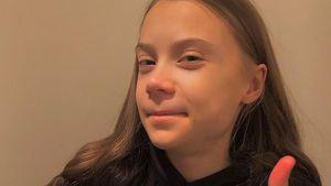 Endlich 18! Greta Thunberg nimmt Kritiker auf die Schippe