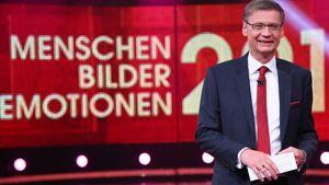 """Günther Jauch bei """"Menschen, Bilder, Emotionen"""""""
