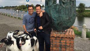 Stardesigner Guido Maria Kretschmer mit seinen Liebsten