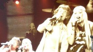 Beim Stones-Kozert: Gwen Stefani moves like Jagger