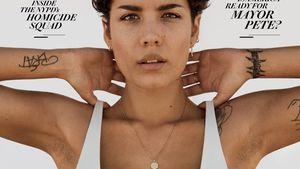 Halsey polarisiert mit unrasierten Achseln auf Magazin-Cover