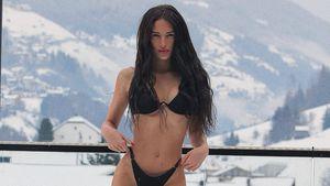Hanna Schlönvoigt bekommt Kritik für Bikini-Bild im Schnee