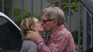 Knutsch-Alarm: Harrison Ford zeigt Leidenschaft