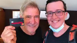 Herrlich: Deutscher Touri findet Harrison Fords Kreditkarte!