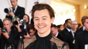 Im Kleid: Harry Styles als erster Mann auf US-Vogue-Cover