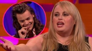 Harry Styles und Rebel Wilson