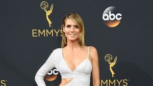 Heidi Klum bei den Emmy-Awards 2016