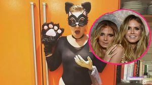 Lena Dunham und Heidi Klum im Halloween-Battle