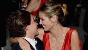 Model Heidi Klum und Vito Schnabel im Rahmen der Oscars 2017