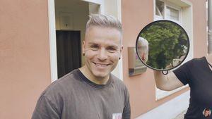 Wette verloren: Henning Merten hat eine neue Haarfarbe!