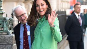 Bauch wächst & wächst: Herzogin Kate so schön schwanger