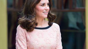 Nach Babyblau: Schwangere Herzogin Kate verwirrt in Rosa!