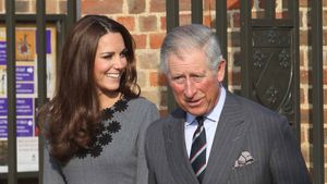 Herzogin Kate und Prinz Charles