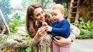 Anhänglich: Herzogin Kate verrät süße Details über Louis
