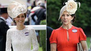 Herzogin Kate und Prinzessin Mary von Dänemark in Ascot