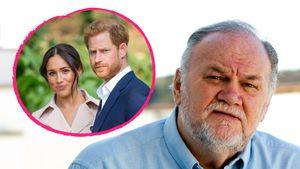 TV-Drohung: Will Thomas Markle Meghan und Harry erpressen?