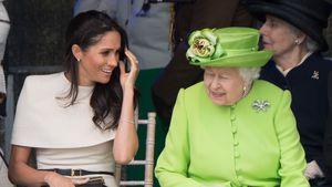 """""""War wundervoll"""": Meghan schwärmt vom Verhältnis zur Queen!"""