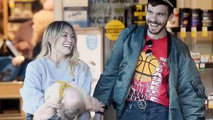 Tochter macht wilde Faxen: Hilary Duff trotzdem entspannt