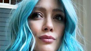 Blaue Haare: Bekommt schwangere Hilary Duff einen Jungen?